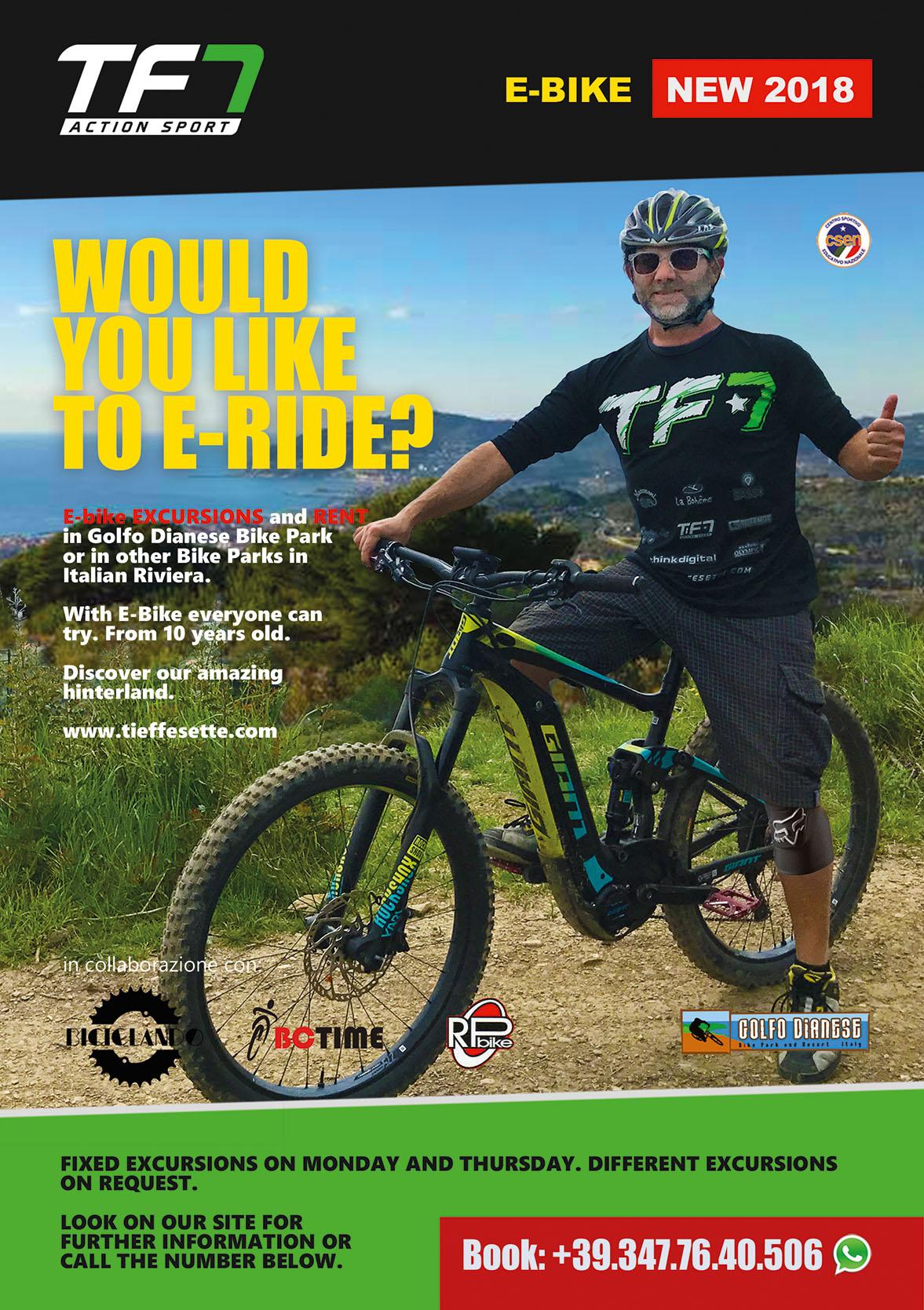 TF7 Escursioni e Noleggio E-Bike nel Golfo Dianese